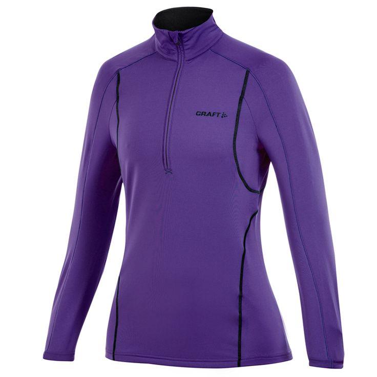 Nieuw: Craft shirt lange mouw Stretch Pullover paars dames bij Hardloopaanbiedingen.nl #Craft #hardloopkleding