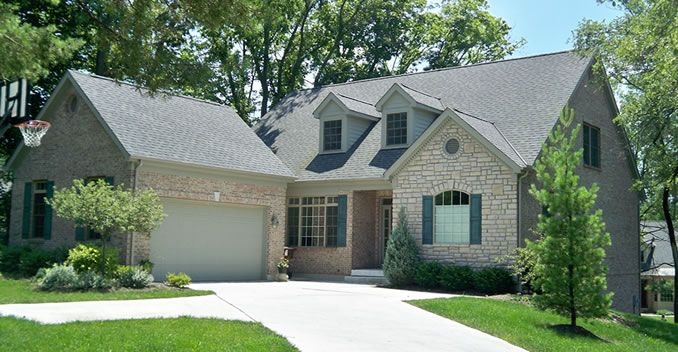 Best Owens Corning Duration Estate Gray Shingles House 400 x 300