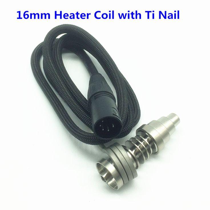 E-nail 16MM Heater Coil Fit For 16mm/20mm Domeless Titanium Nail Quartz Nail E Dab Nail