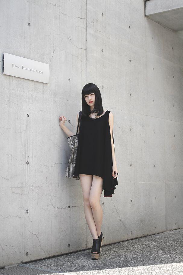 nkym:  [Street Style] 円 | 大学生 | Harajuku (Tokyo) «DROPTOKYO