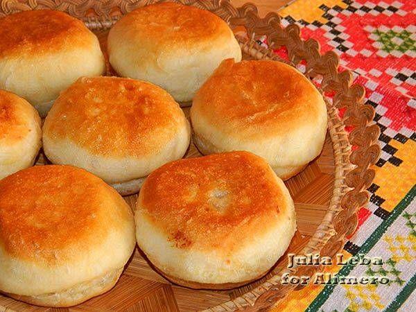 Пончики с курицей / Рецепты с фото