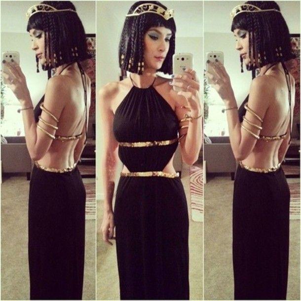 dress low back low back dress gold black dress