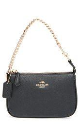 COACH 'Nolita 15' LeatherWristlet