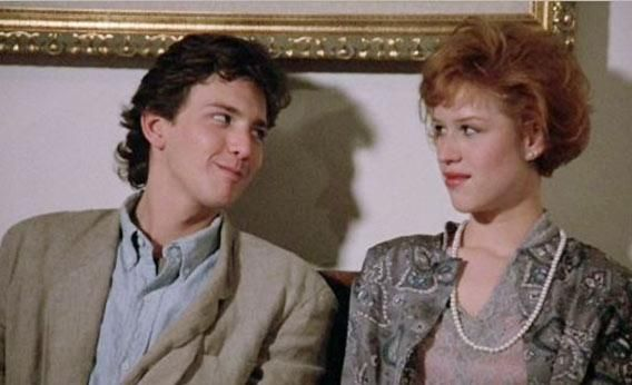 "When Andrew McCarthy rushed up to Molly Ringwald in the final moments of Pretty In Pink to apologize for being a douchebag and declare his love, it seemed, to many of us growing up in the 1980s, the pinnacle of romance. ""I always believed in you,"" his Blane tells her Andie, blue-gray eyes brimming with nervous conviction. ""I just didn't believe in me."""