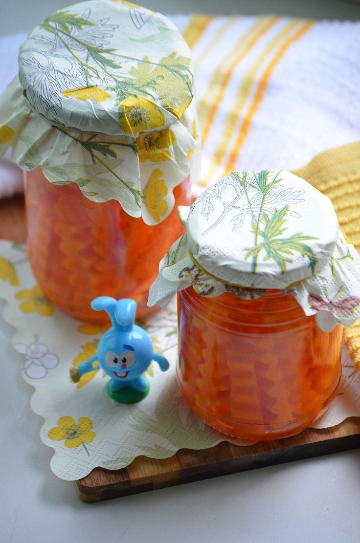Маринованная морковь для украшения рецепт с фотографиями