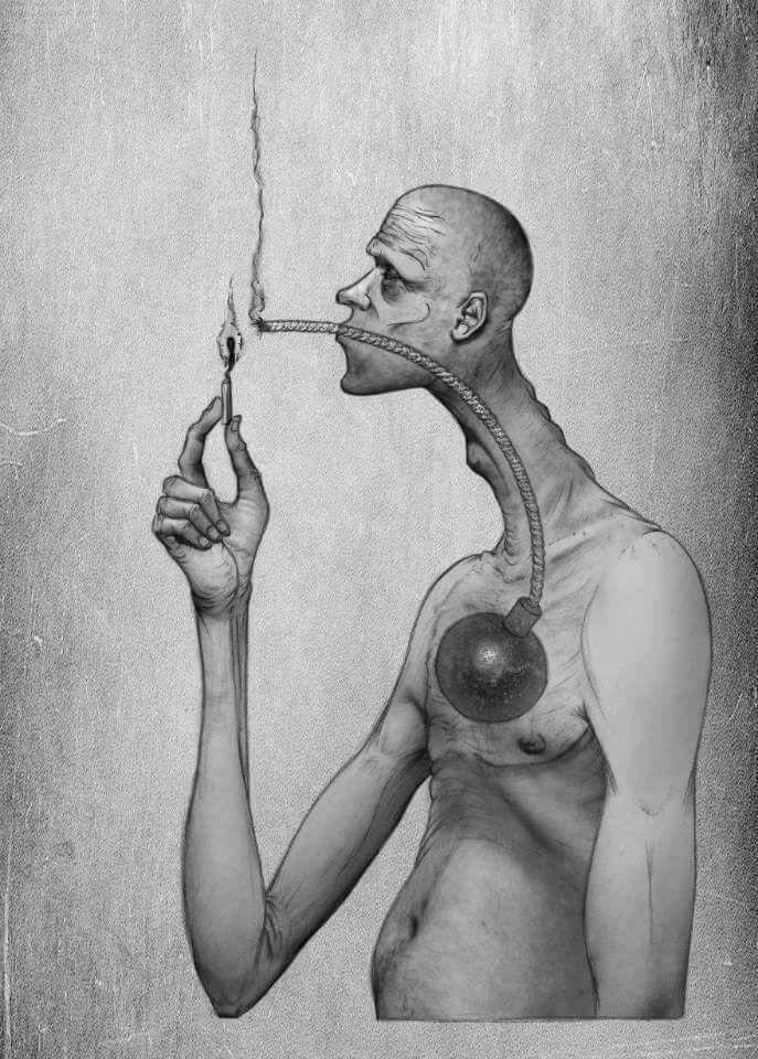 صوره كاريكاتير معبر Satirical Illustrations Meaningful Art Art With Meaning