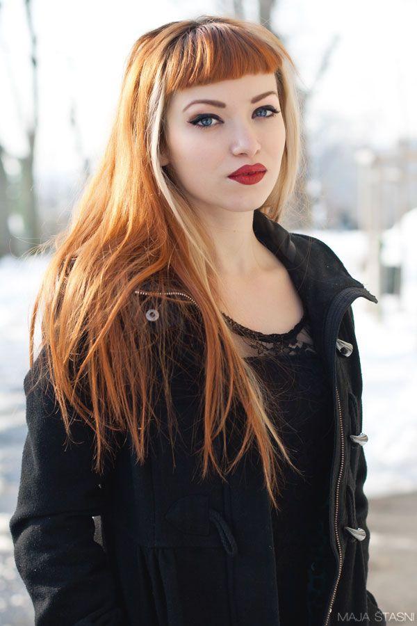 Superb 17 Best Ideas About Retro Bangs On Pinterest Short Bangs Hairstyles For Women Draintrainus