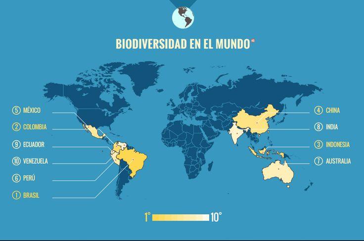 La biodiversidad colombiana en ocho gráficos