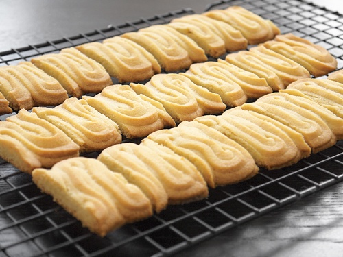 Utrechtse Spritsen - traditional Dutch butter cookies