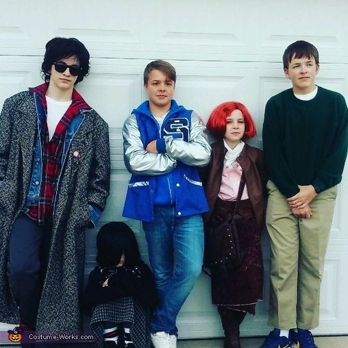 The Breakfast Club - 2016 Halloween Costume Contest via @costume_works