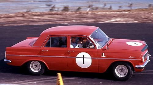 GM Holden EH S4 Holden 3rd Generation. Lakeside 1964. Driven by Brian ' Yogi Bear ' Muir  The S4 model was introduced at the Bathurst Armstrong 500 race Oct 1963. GMH Holden designed a limited number of the 3rd Gen EH with small block V8s* , four speed man and front disc brakes. A test and measure for later models, they saw life out on the race circuits. The whole package from this S4 did not go into production until the HK in 1969 as options. [* just five V8s, if still around very valuable]