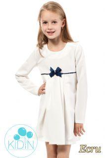 Sukienka dziewczęca z kokardką.  #cudmoda #moda #ubrania #odzież #clothes #styl #dress #dresses #sukienki #dziecięce #odzież_dziecięca #moda #dziecięca #sukienka
