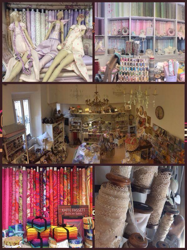 Roberta de Marchi   Quilt,Patchwork & Yarn Shop Milan Via Solari 46 Merate Via Perego 4 www.robertademarchi.com