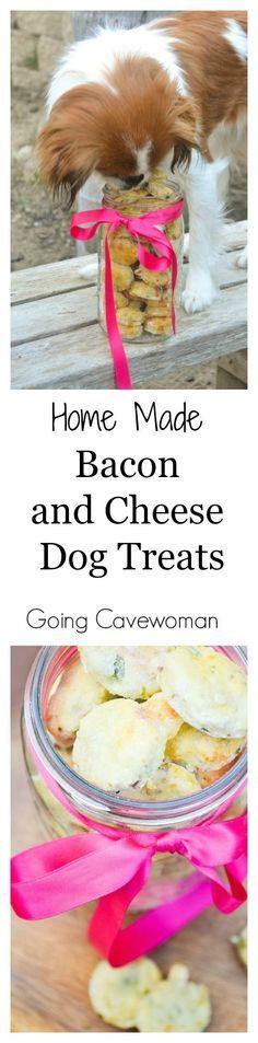 Homemade Peanut Butter Bacon Dog Treats   Sally's Baking ...