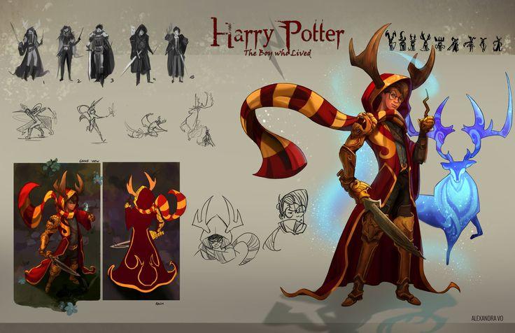 ArtStation - Harry Potter, Alexandra Vo