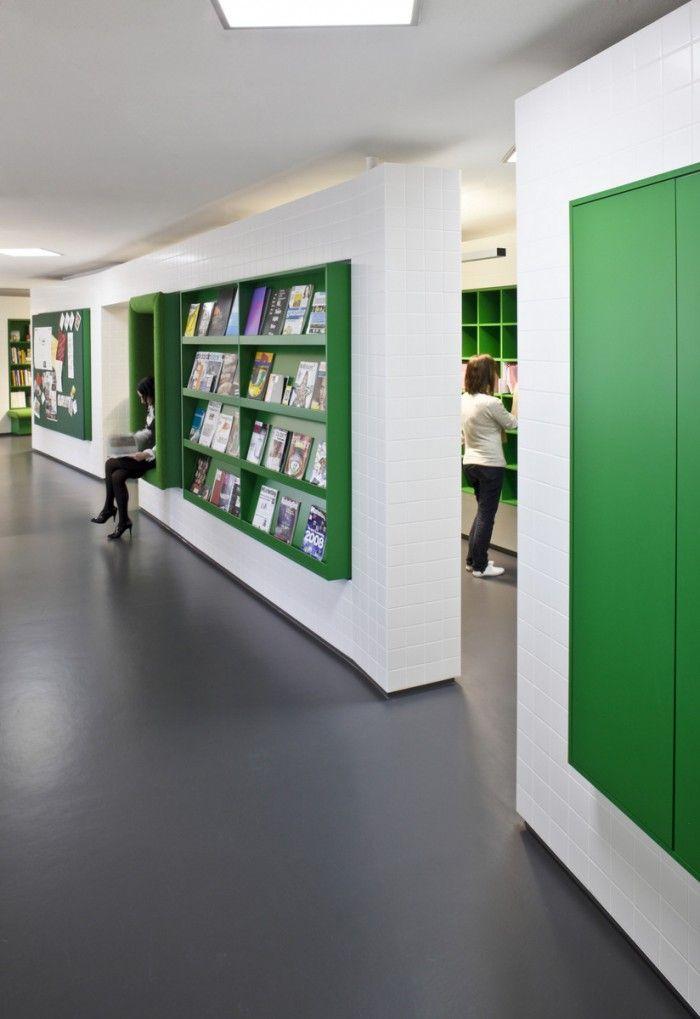 Membrane fonctionnelle : bibliothèque X lecture. Langland's Windsor Advertising Agency Offices / Jump Studios