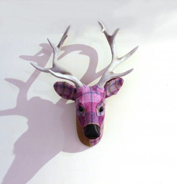 April Barrie, Cyril, Textile Taxidermy | Scottish Contemporary Art
