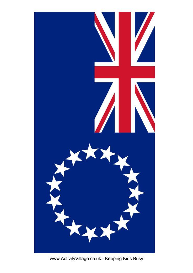 Cook Islands Flag - Free Printable Cook Islands Flag