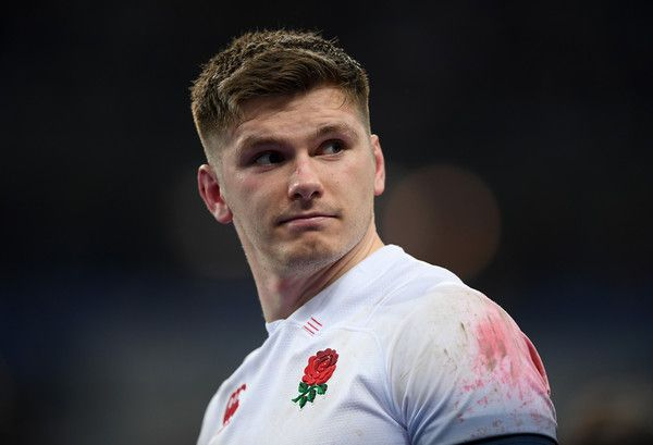 Owen Farrell Photos Photos - Owen Farrell of England looks dejected following the NatWest Six Nations match between France and England at Stade de France on March 10, 2018 in Paris, France. France v England - NatWest Six Nations