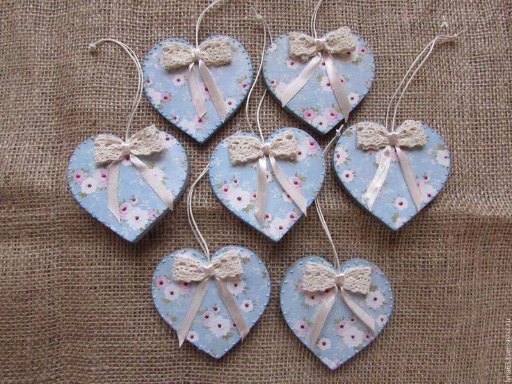 Купить Сердечки валентинки - День Святого Валентина, день влюбленных, подарок на день валентина