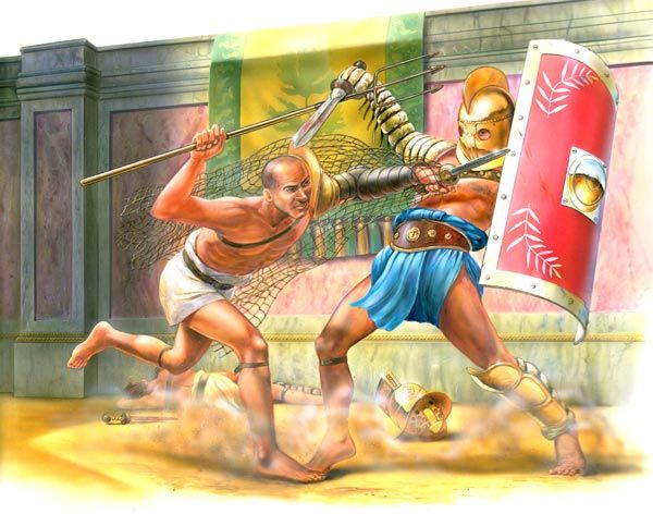 the rise of gladiatorial combat in the roman empire The ancient roman public's hunger for gladiatorial combat has never been greater the emperor domitian's passion for novelty and variety in the arena has given rise to a very.