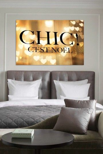 "Oliver Gal ""Chic Noel"" Canvas Art by Oliver Gal Gallery on @HauteLook"