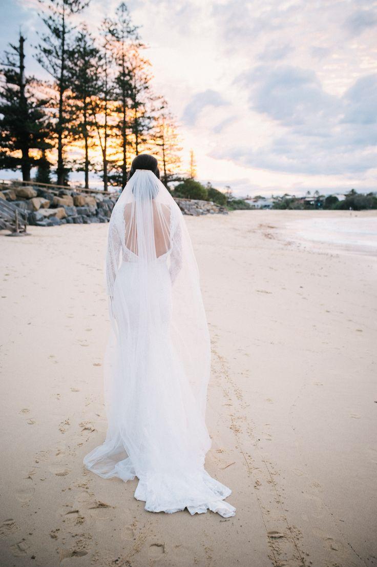 Stunning Sunset Bridal www.whenfreddiemetlilly.com.au