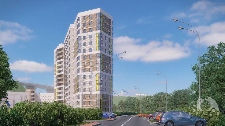 Residential building_3d-vis_2