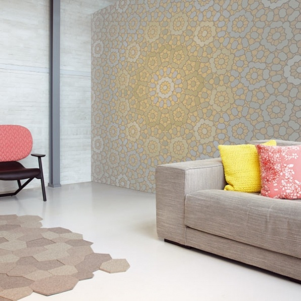 I absolutely love this wallpaper from the Kaleido collection by Eijffinger