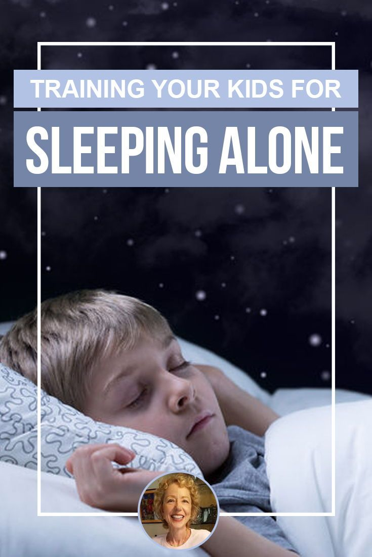 Encouraging a toddler to sleep alone in their own bed can ...