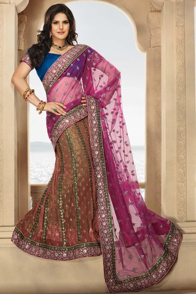 Glowing Kalidar Lehenga Saree  Item code : SVP4710   http://www.bharatplaza.in/womens-wear/sarees/lehenga-saree/glowing-kalidar-lehenga-saree-svp4710.html  https://twitter.com/bharatplaza_in  https://www.facebook.com/bharatplazaindianbridal