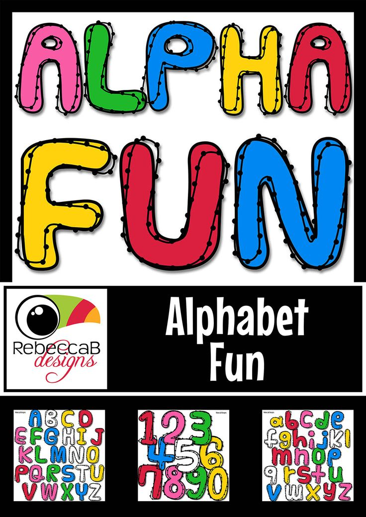 Alphabet Clip Art Fun contains 372 individual clip art images with a funky, bold and eye catching theme. This set includes 6 colours of each Upper case, Lower case and numbers 0-9 including black and white. Import the individual letters into your editing program, such as PowerPoint, to create bright and bold titles for your product covers, posters, activities etc.