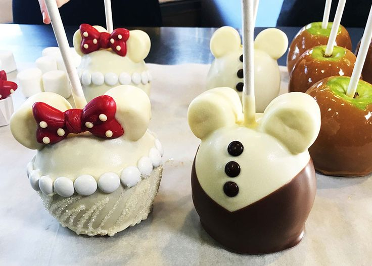 Valentine's DIY: Make Disney Bride & Groom Candy Apples from Walt Disney World Resort