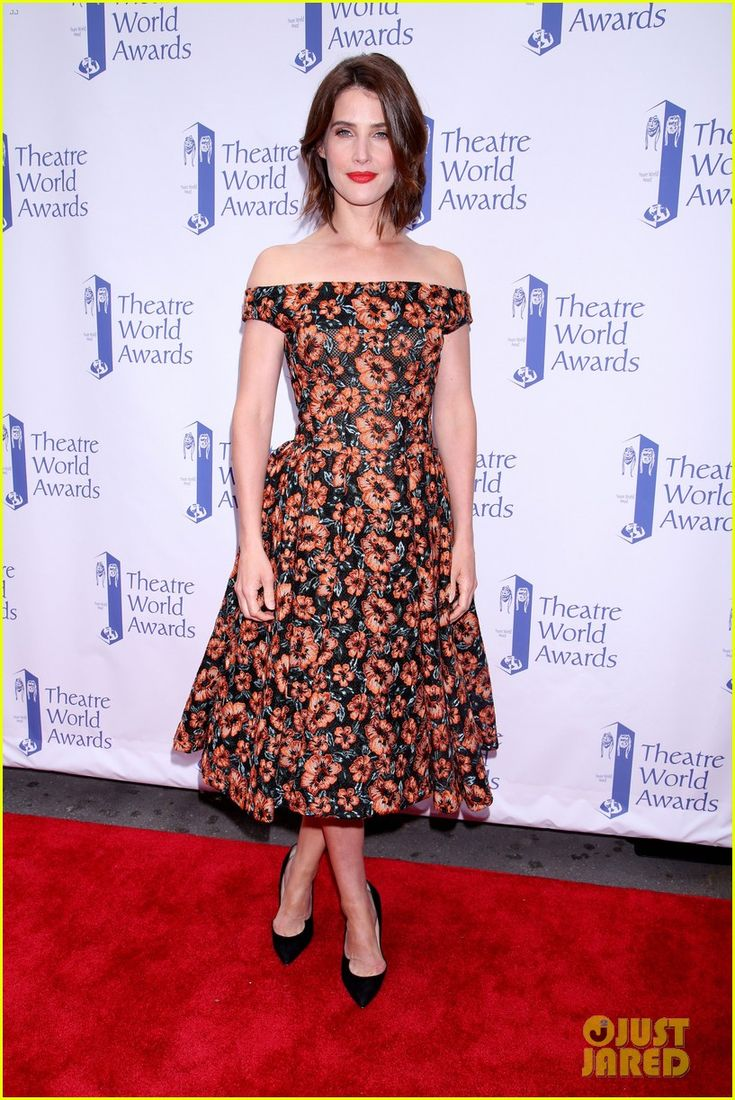 Cobie Smulders Gets Support From Hubby Taran Killam At Theatre World Awards 2017!