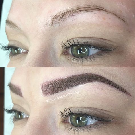 25 best ideas about hair stroke eyebrows on pinterest for How is microblading different to tattooing