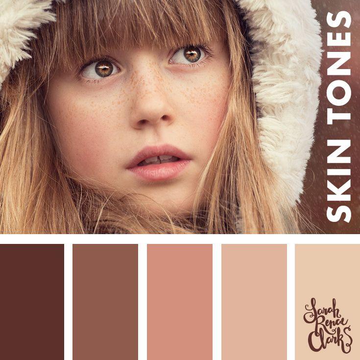 28 best Skin Tone Color Palettes images on Pinterest | Colors ...