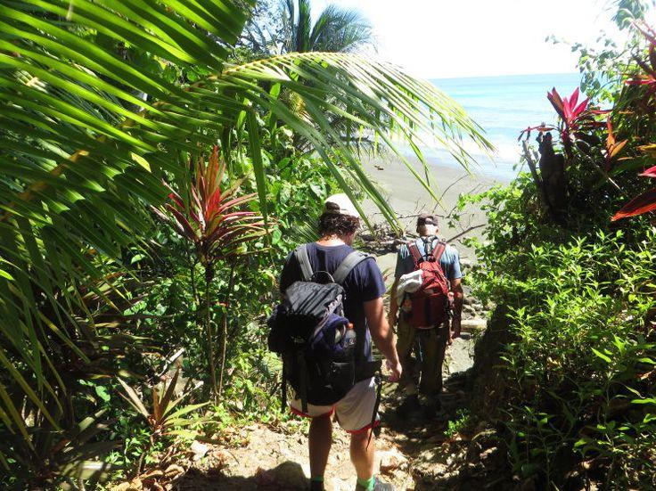 """Natur vom Feinsten - Manche von Costa Ricas Naturschätzen muss man sich hart erarbeiten. Zum Beispiel bei einer schweißtreibenden Tour durch den Nationalpark Corcovado, einen der artenreichsten Orte der Welt. Entspannen ist im Anschluss im """"Regenwald der Österreicher"""" angesagt. Zum Reisebericht: http://www.nachrichten.at/reisen/Natur-vom-Feinsten;art119,2109397 (Bild: Kapeller)"""