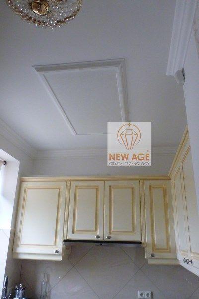 Lakáscélú felhasználásra G-OLD 150f - 4 infrapanel és infrafűtés. fakeretes infrapanel polisztirol díszítőelemmel