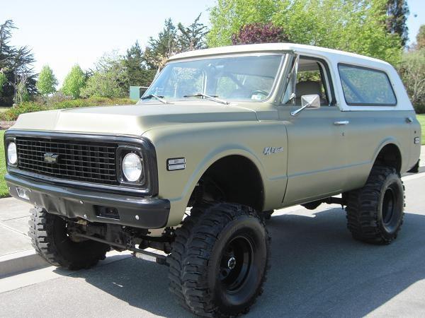 1972Chevrolet : Blazer K5 4X4 BLAZER in Chevrolet