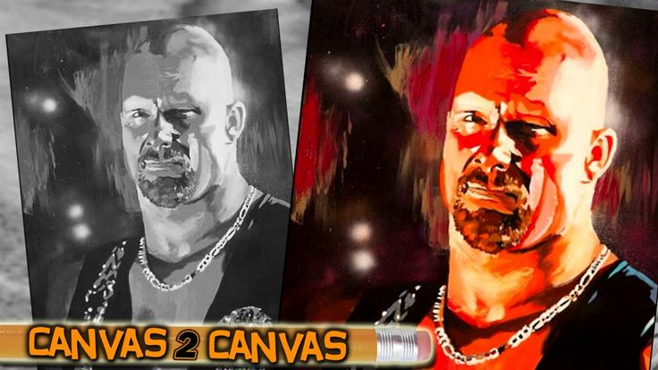 Steve Austin Featured On WWE's Canvas 2 Canvas - StillRealToUs.com