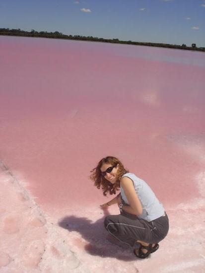 Pink Lake 1 Adelaide, Australia