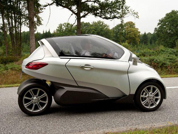 PSA Peugeot Citroën apresenta triciclo elétrico para três pessoas - Noticias Vendo Ágio