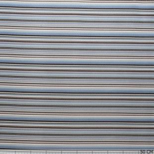 Outdoor Sunproof Stripe Multi Colour Blue