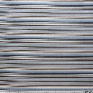 Outdoor Sunproof Stripe Multi Colour Blue