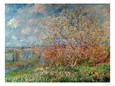 Spring, 1880-82 Giclee Print by Claude Monet at Art.com