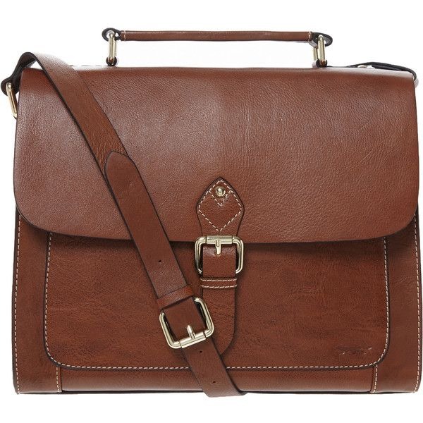 Paul Costelloe Brown Satchel Bag (£70) ❤ liked on Polyvore featuring bags, handbags, accessories, purses, bolsas, sacs, satchel purse, brown bag, satchel style handbags and brown purse