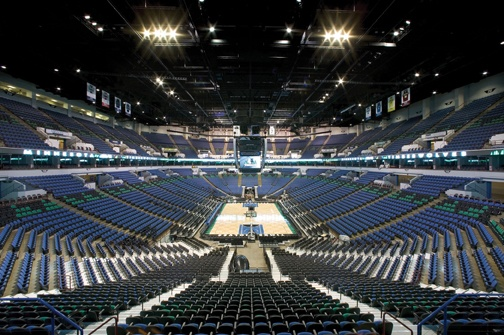 Target Center in Minneapolis, MN home of the Minnesota Timberwolves. Just a short drive from the Minneapolis Marriott Northwest.