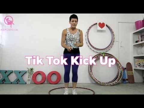Hula Hoop Kick Up - From Floor to Knees - YouTube