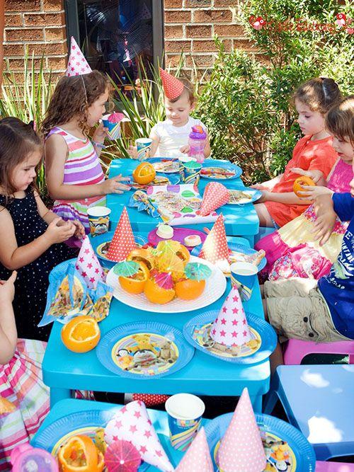 Playschool birthday party |