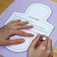 Luna Wolf – Free cloth menstrual pad patterns